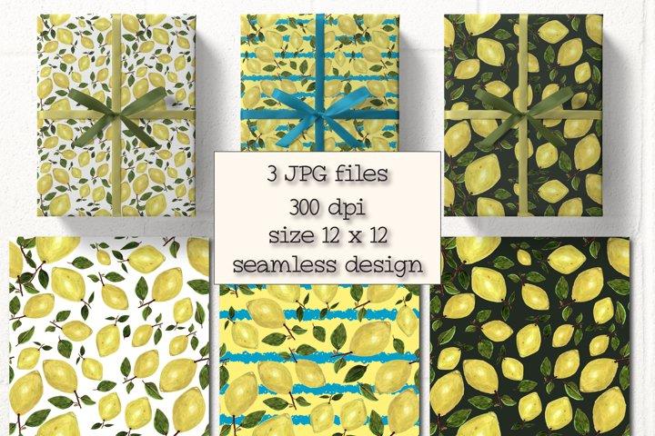 Lemon Summer Pattern