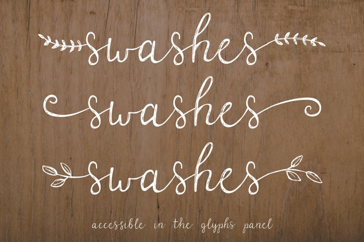 Parsnips Rustic Handwritten Script - Free Font Of The Week Design1