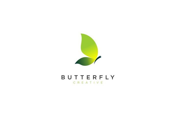 Colorful Butterfly Logo