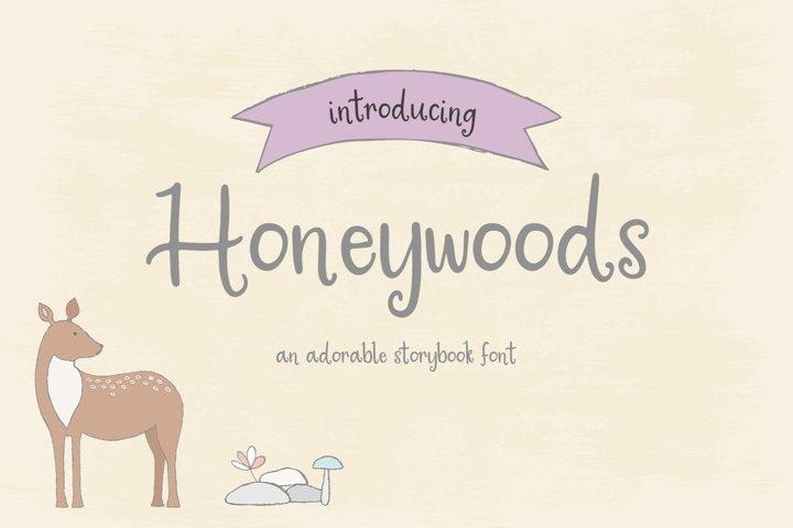 Honeywoods Storybook Serif Font