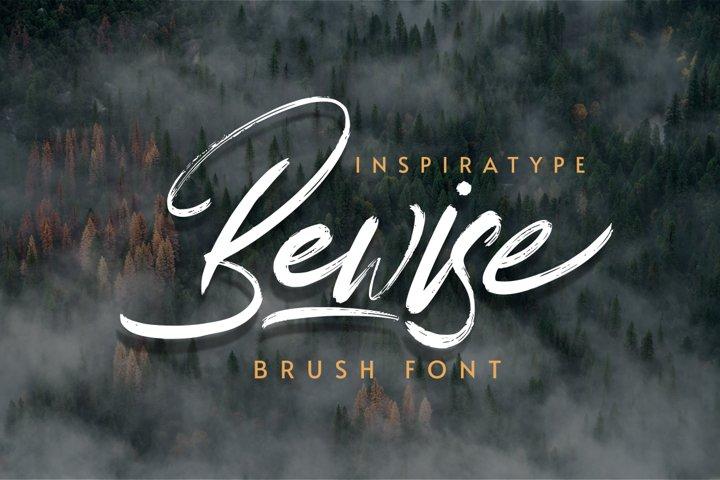 Bewise - Script Brush