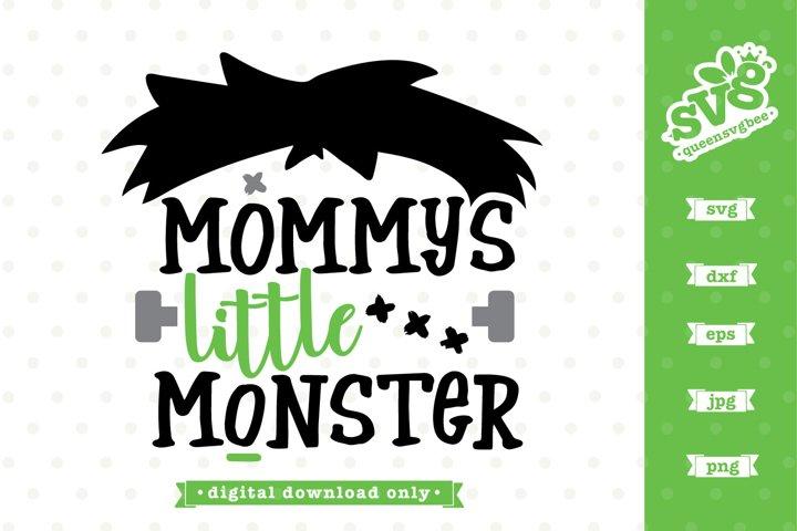 Halloween SVG file | Mommys Little Monster SVG design