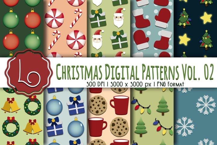 Christmas Digital Patterns Vol. 02