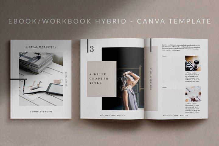 eBook-Workbook Template for Canva   Mio