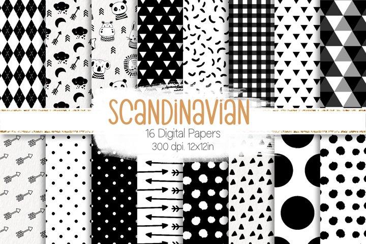 Scandinavian Animals Paper Set