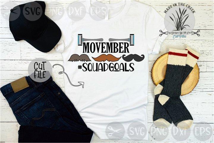 Movember, Mustache Squad, Razor, November, Cut File, SVG