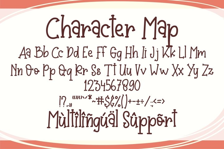 Baby Crab - Quirky Handwritten Font example 2