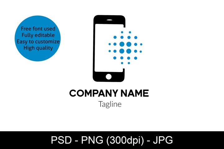 Phone Logo Template, Technology Logo, Professional Logo
