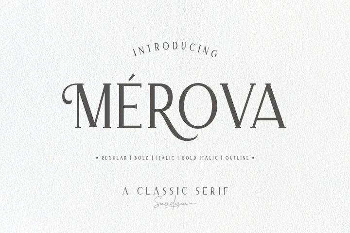 Merova - Classic Serif