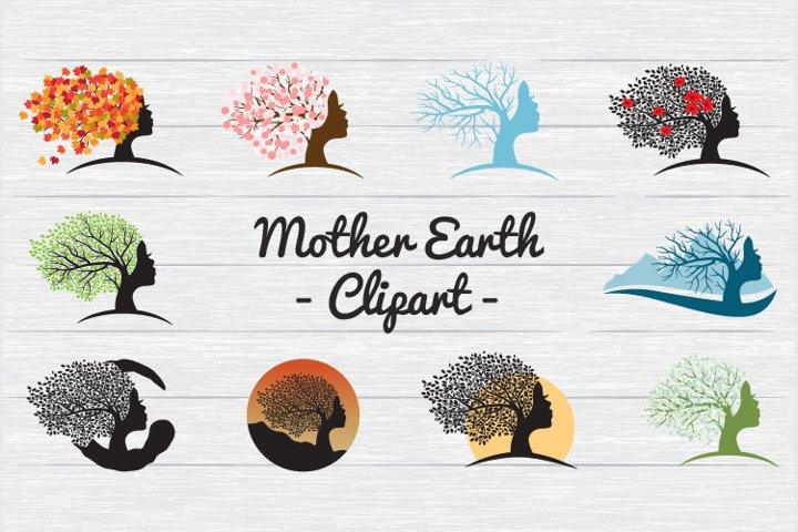 Mother Earth - Clipart