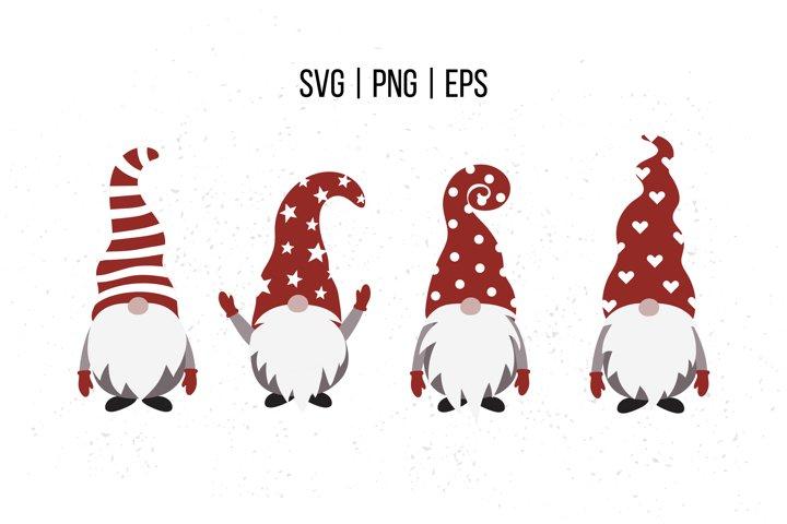 Christmas gnomes SVG, gnome SVG cut file