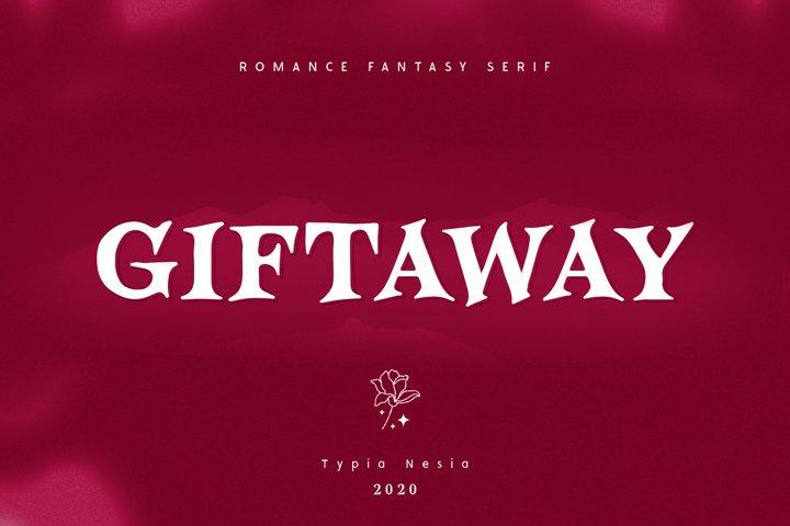 Giftaway - Romantic Serif