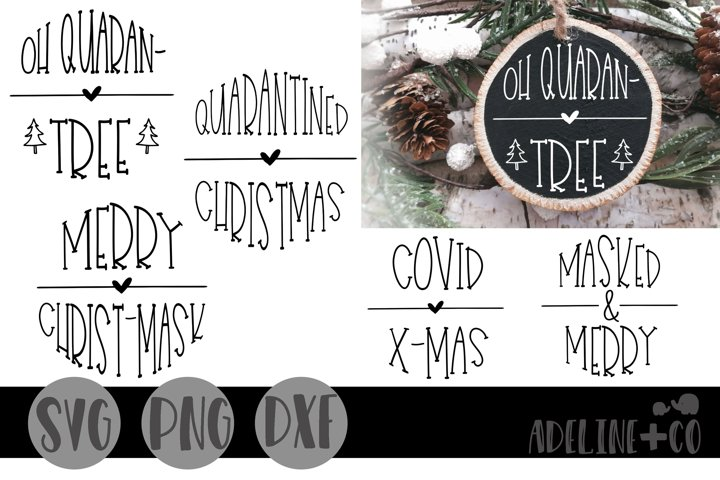 Round Christmas ornaments Bundle #2, SVG, PNG, DXF