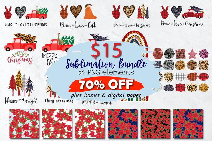 Christmas Sublimation Bundle