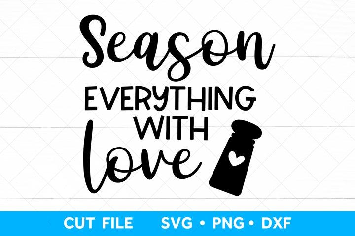 Kitchen SVG Cut file, Kitchen Sign Farmhouse SVG