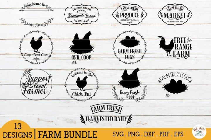 Farm sign making bundle SVG,chicken coop sign svg,farmhoue