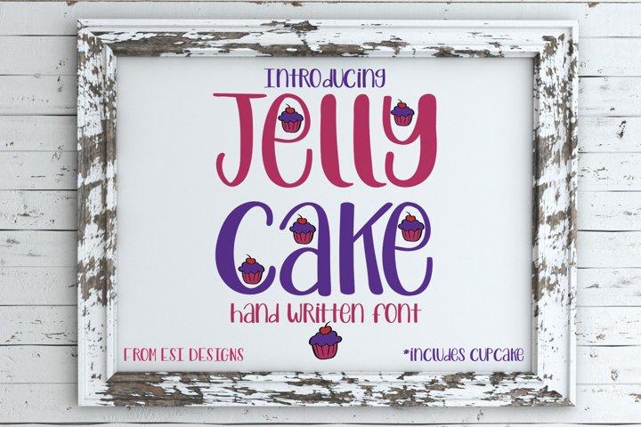 Jelly Cake - A Fun Modern Hand Drawn Font