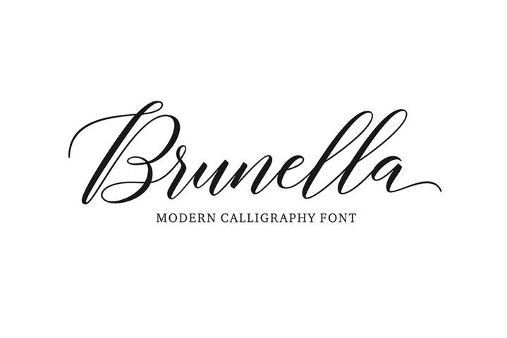 Brunella Script