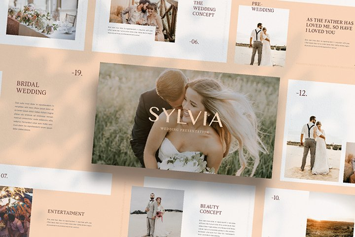 SYLVIA - Google Slide Template