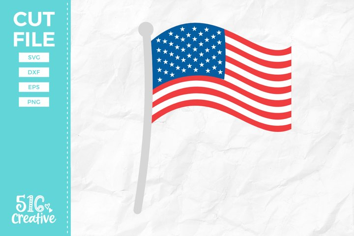 American Flag SVG DXF EPS PNG