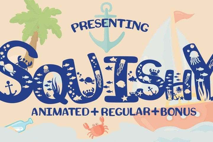 Squishy Craft Font - Free Font of The Week Font