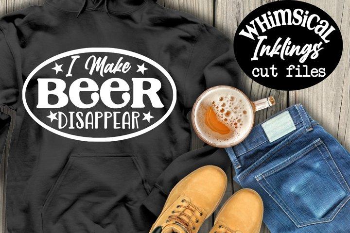 I Make Beer Disappear SVG