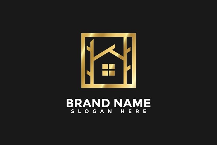 Home Real Estate Vector Logo