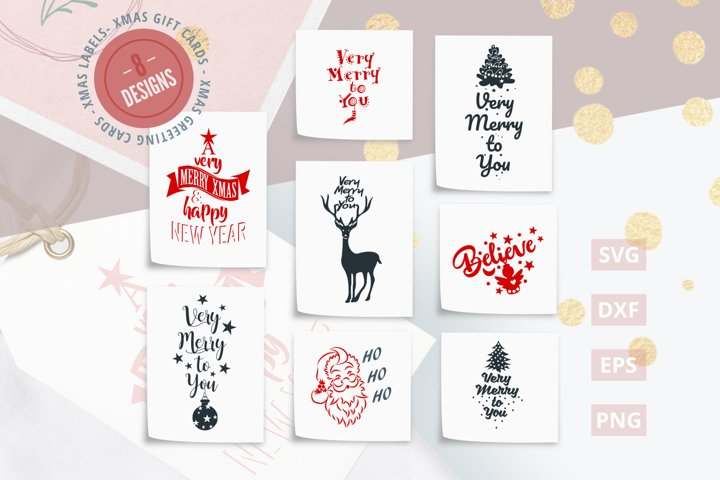 Christmas Quotes SVG Cut Files|SVG |DXF |EPS |PNG