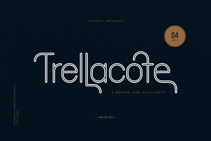Trellacotte Modern Sans Serif Fonts