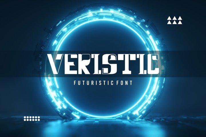 Veristic - Sci Fi Futuristic Font