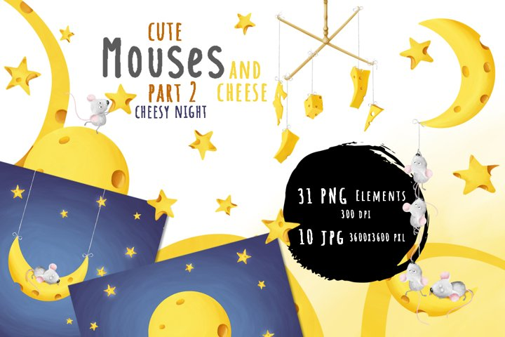 Mouses and cheese. PART 2 Cheesy night