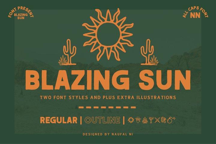 BLAZING SUN