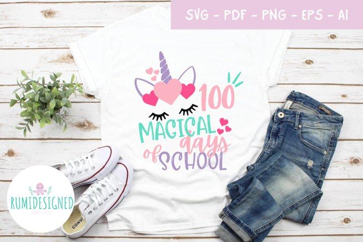 100 Magical Days of School SVG Bundle