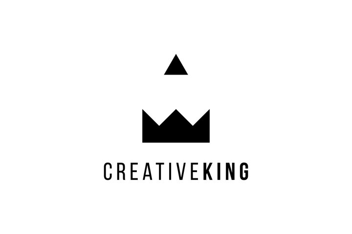 Creative King Logo Design Template