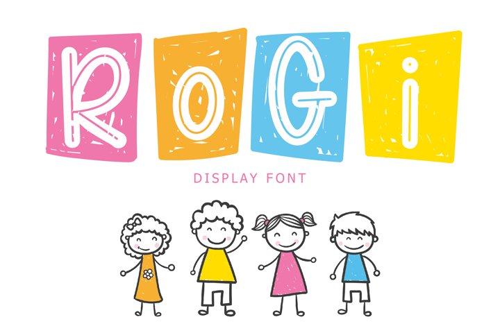 Rogi Display Font