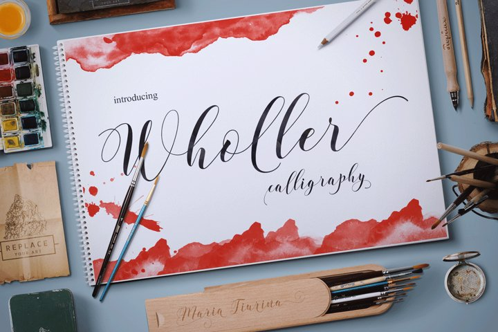Wholer - Free Font of The Week Font