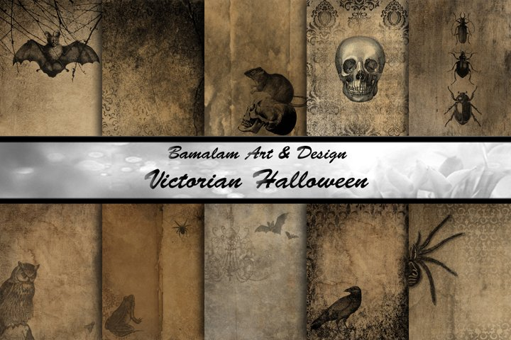 Victorian Halloween Backgrounds