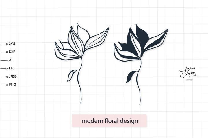 wildflower svg, flower svg png, botanical cut files