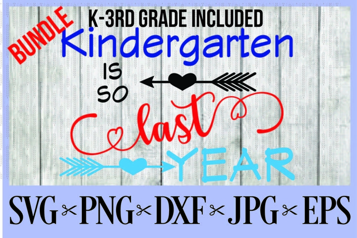 BUNDLE Kindergarten, First, Second, AND Third grade is so la