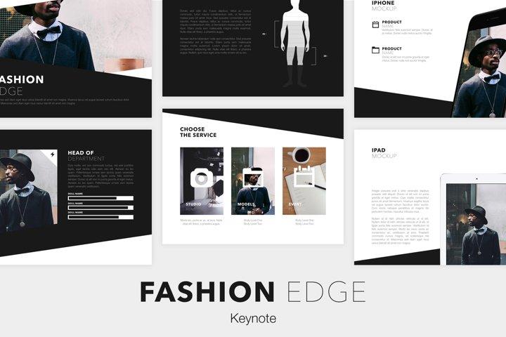 Fashion Edge Keynote Template