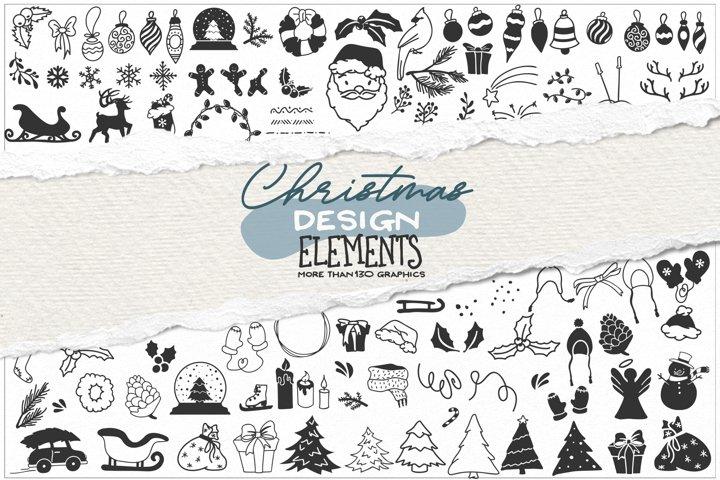 Christmas SVG Bundle | Christmas Bundle SVG Cut Files