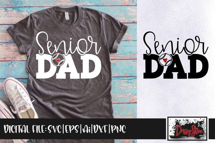 Senior Dad SVG DXF Ai EPS PNG