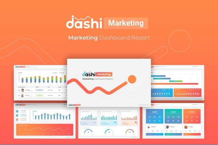 Dashi Marketing Dashboard Report Presentation