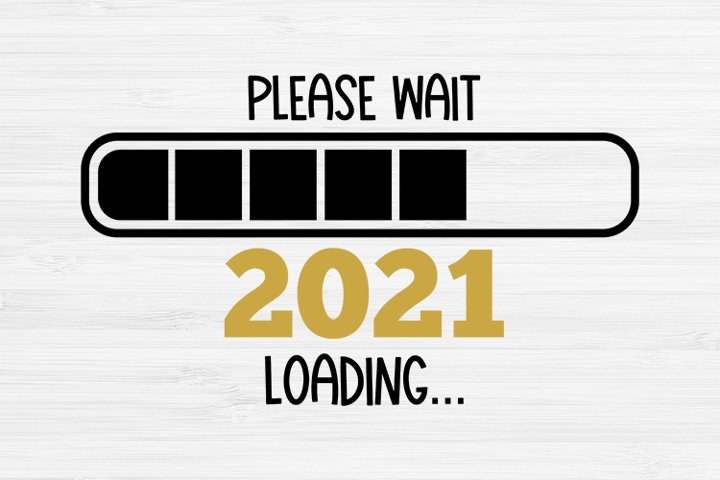 20201 loading svg, New years cricut , New Years SVG