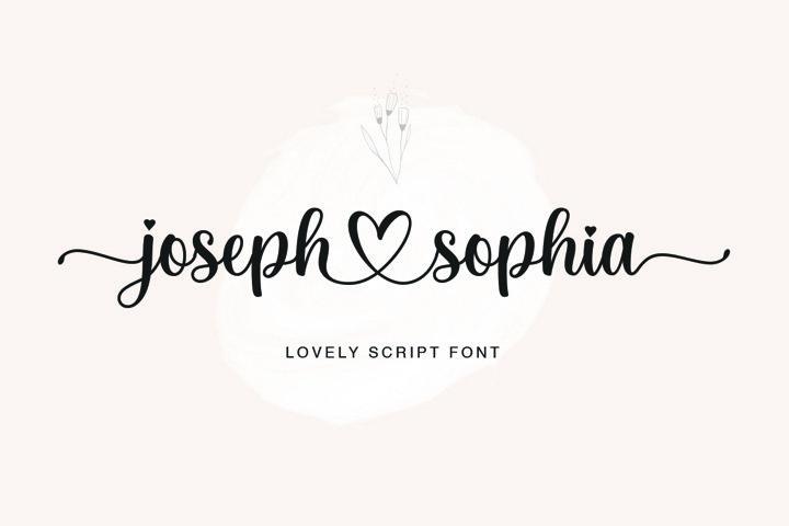 Joseph Sophia Script