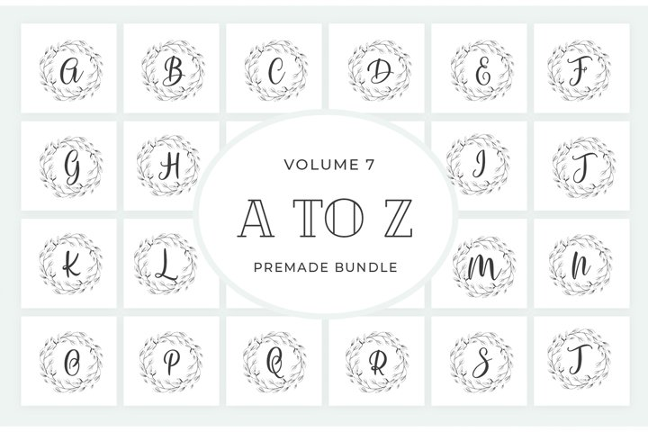 Vol.7 Alphabets Logo Templates