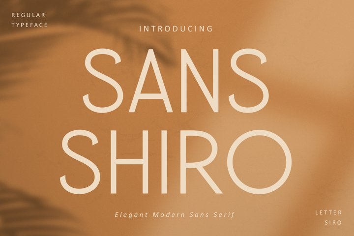 SANS SHIRO