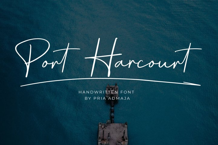 Port Harcourt Handwritten