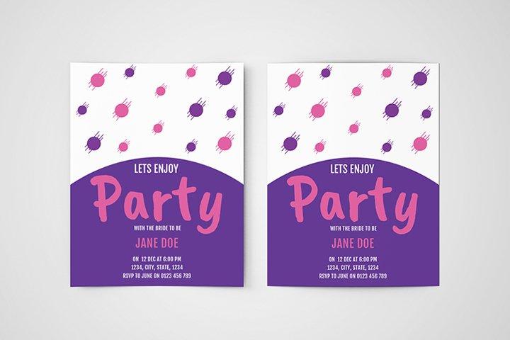 Party Invitation Vol.01