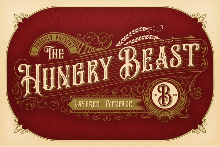 Hungry Beast Layered Family